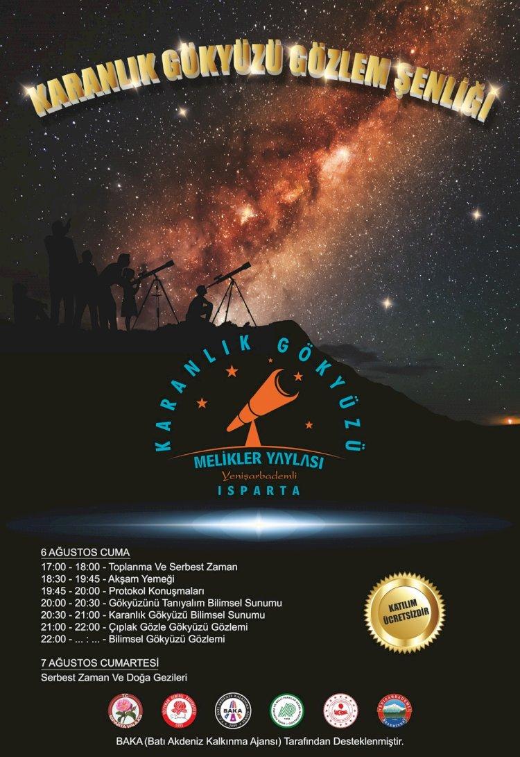 Gökyüzü Gözlem Şenliği 6-7 Ağustos Tarihlerinde Gerçekleşecek