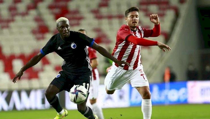 Sivasspor-Kopenhag maç sonucu: 1-2
