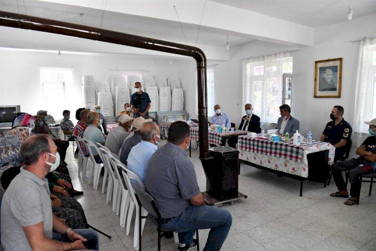 Vali Seymenoğlu Özbahçe Köyünü Ziyaret Etti